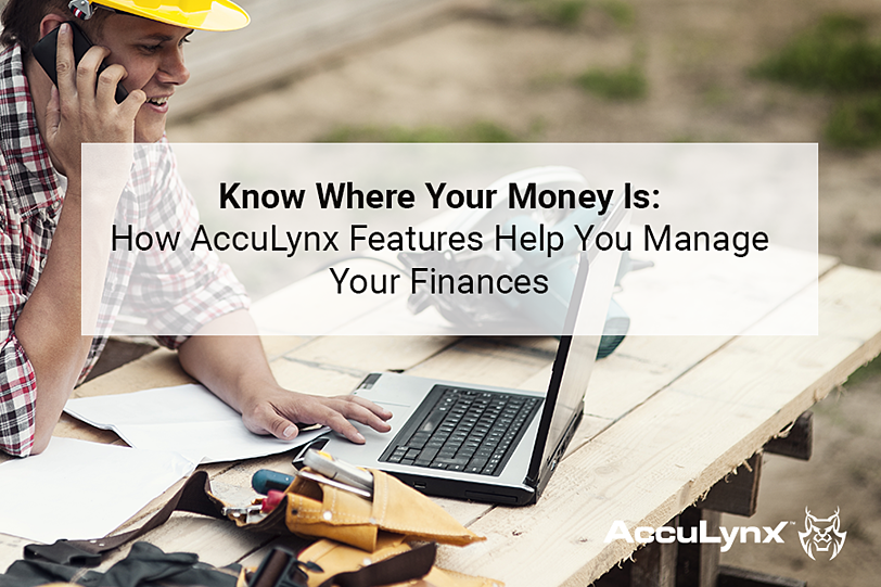 know where your money is how acculynx features help you manage your